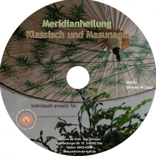 Meridianheilung MP3-CD