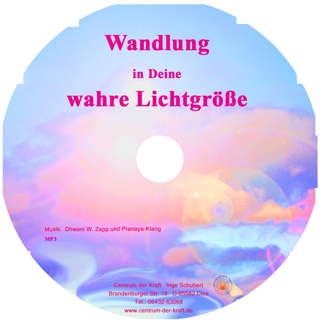 CD Wandlung wahre Lichtgröße